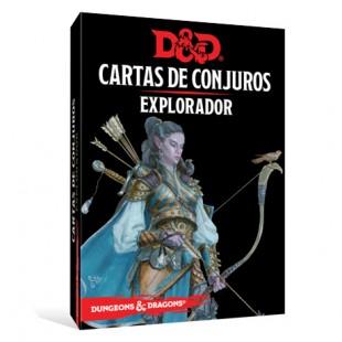 Dungeons & Dragons (Quinta Edición) - Explorador / Cartas de conjuro