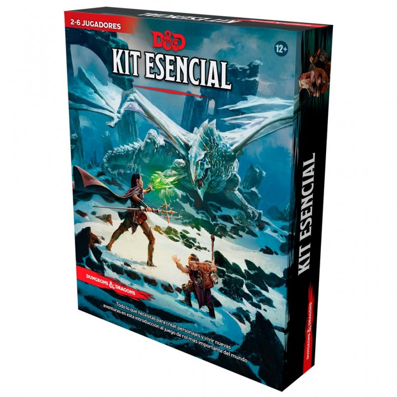 [Preventa 24-09-21 ] Dungeons & Dragons - Kit esencial