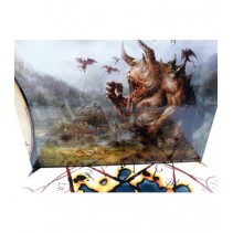 La Sombra del Rey Demonio: Pantalla del narrador.