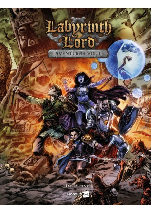 Labyrinth Lord Aventuras Vol. 1