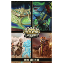 Savage Worlds (edición aventura): Pantalla + Mini Settings