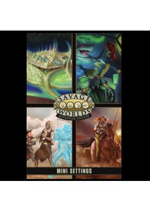 Savage Worlds (edición aventura): Pantalla + Mini Settings