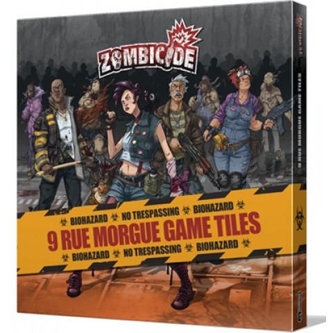 Zombicide: Rue Morgue Tile set