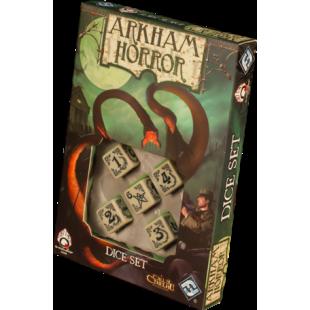 Arkham Horror: Set de dados color hueso