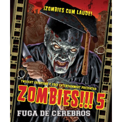 Zombies!!! 5, Fuga de Cerebros
