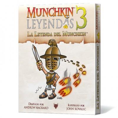 Munchkin Leyendas 3: La Leyenda del Munchkin