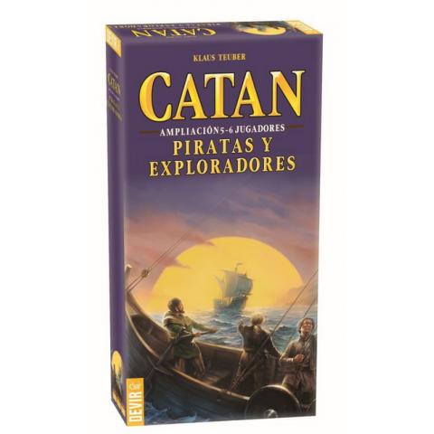 Catan: Piratas y Exploradores Exp 5-6 jugadores