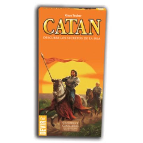 Catan: Ciudades y Caballeros. Expansión  5-6 jugadores (Nueva Edición)