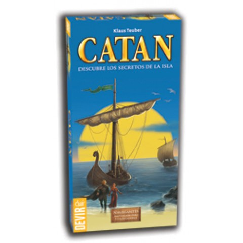 Catan: Navegantes Exp. 5-6 jugadores (Nueva Edición)