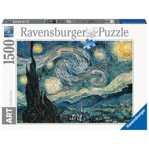 PUZZLE Vincent van Gogh Noche Estrellada (1500 pz)