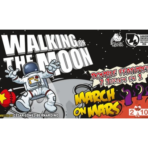 Walking on the moon + March on Mars